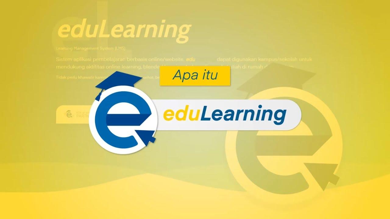 Aplikasi Kuliah Online edulearning e-learning